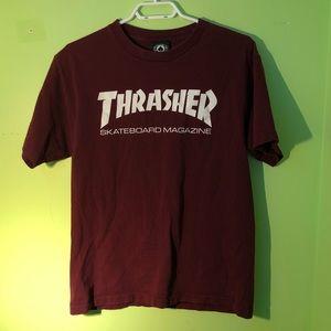 Thrasher Maroon T-Shirt
